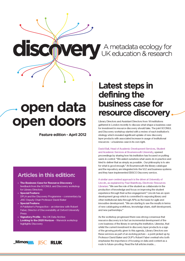 The Discovery Newsletter